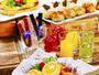 <クチコミ★高評価>トロピカルドリンク・県産野菜のオールスター「ラグ菜サラダ畑」注目のブッフェ♪