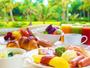【朝食大賞】県産サラダバーやぎのわんグルメで統一されたブッフェ