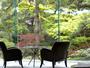 *ラウンジより望む日本庭園は時を忘れるほどの癒しの空間です。