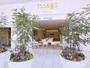 【カフェ外観】ペットOK、喫煙も可能なテラス席は緑も豊かでゆっくり寛げます。