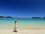 【イダの浜】白い砂浜も美しい奥西表の絶景ビーチ。