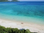 【イダの浜】白浜港から船でしか行くことのできない集落にある幻のビーチ「イダの浜」へ。
