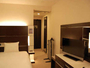 16平米の広々シングルルーム♪全室シモンズベッドを採用しておりゆっく-りくつろげます!