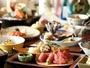 【夕食】月替りの会席料理をご用意。