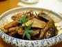 *夕食のあら炊きです。味のしみたどこか懐かしいホッとする一品です。