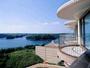 ◆客室の眺望(雄大な的矢湾・リアス式の景観)