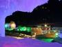 氷瀑まつり会場までは、夜7時-10時迄シャトルバスを運行中★幻想的な空間をぜひお楽しみくださいませ。
