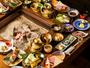 *【夕食一例】囲炉裏会席 -弐の膳 平治岳-旬の素材がもつ美味しさをそのままお愉しみ頂けます。