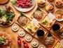 打ちたて蕎麦の天せいろや馬肉を使った特製味噌桜肉鍋を楽しめるビュッフェ