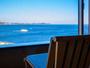窓越しから望む相模灘・熱海市街の景色は絶景!☆