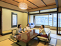 エクセレンシィラージルーム。ホテル最大の120平米を誇る、広々客室♪