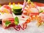 日本料理「あお花」。四季折々の旬の食材で作るこだわりの一品。