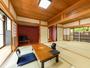 別館1階:内風呂付き和洋室【紅】