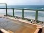 遮るものなく海一望!極上の展望檜露天風呂