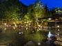 【大露天風呂HOSHI★ZORA】晴れた日には、零れ落ちてくるような満天の星空が広がります。