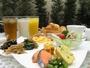 無料朝食付(和洋ビュッフェスタイル ご利用時間 06:30-09:30)