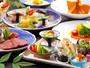 【ご夕食 旬菜の膳】ふるさとが育んだ旬を、一番おいしく。それが大忠のお料理のテーマです。
