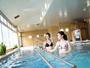 【療法浴場「さらさ」 (新館2F)】歩行浴水着を着用して利用する水中運動浴場。※水着はレンタル有