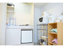 ★「室内キッチン」 食器・調理器具、冷蔵庫、炊飯器、レンジ、ポット完備♪