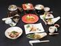 *【夕食一例:特選会席】雁会席 島根和牛・伊勢海老・のどぐろを贅沢につかっています