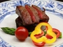 【夕食】信州牛のステーキ
