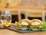 ■朝食:一新した朝食のテーマはライスバーガー!他では味わえない朝食をこの機会に是非!