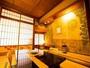 床の間に日本画