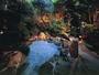 ▲庭園貸切露天風呂 (下呂温泉では数少ない温泉を利用した貸切露天風呂となります)