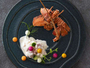 【夕食一例】ひとつひとつ趣向を凝らしたシェフ自慢の創作ディナーをお愉しみください。