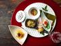 【夕食一例】四季の素材を大切にした、贅沢な味わいをお楽しみください。