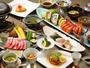 【お食事一例】小樽・道内の旬材にこだわり、和にとらわれない藏群独自の会席。