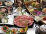 『伊勢海老&アワビ&熊野牛』美味会席一例