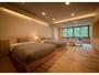 【和モダン】ツインベッドのお部屋。1日1組限定です。