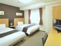 ■ツインエコノミー■デュベスタイルの寝具♪☆120cm幅ベッド×2台