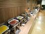 朝食バイキングは品数豊富な35品目!無料サービス