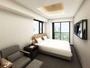◆モデレートツイン◆ バルコニー付 18平米【ベッド幅90cm×2】 ※イメージ