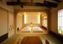 2017年7月、築250年の建屋を建築家により、リノベーション。和洋室【山(YAMA)】は広々14畳と贅沢な造り。