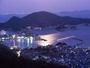 暮れゆく鞆の浦の映像です。崖の上のポニョの舞台にもなりました。