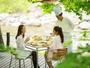 【渓流テラス朝食】(期間限定)渓流沿いのテラスで朝食を。優雅なひとときをお過ごし下さい