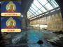 【千年の湯 露天風呂】東山を流れる湯川のせせらぎを間近に楽しめる露天風呂