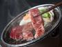 常温でもトロけるようなA5ランク飛騨牛を目の前で焼きながら味わう極旨ステーキ