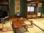 静かな山側客室