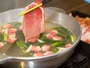 ◆国産牛リブロースのしゃぶしゃぶ-祇園生まれオジカソースのポン酢で