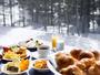 【朝食バイキング】冬景色を眺めながら、朝のひとときを