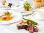 【洋食ディナーコース】自然を眺めながらのお食事と洋食のコースで大切な時間をお過ごしください