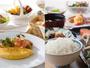 和と洋のバイキングメニュー。ご家族で楽しめる朝食。