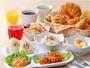 朝食は6:30-9:30の間ご提供しております