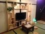 和室。40型TV設置。