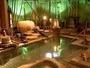 源泉掛け流しの湯量豊富な大浴場「福の湯」屋外庭園風呂と寝湯がございます。