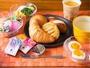大人気無料焼き立てパン♪20種類以上の中から日替わりです!